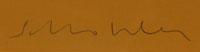 Fritz Scholder (1937-2005) signature.