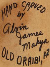 Alvin James Mayka (1936-ca.2003) signature