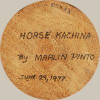 Marlin Pinto (1957- ) signature