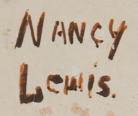 Nancy Lewis signature