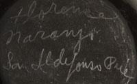 Florence Naranjo (1921- ) signature