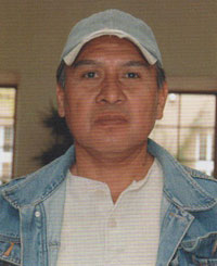 Larry M. Begay, Navajo Nation jewelry artist.  He signs LMB, LB and horse hallmark.  Source: American Indian Jewelry II: A-L, 1,800 Artist Biographies by Gregory and Angie Yan Schaaf