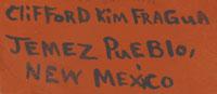 Clifford Kim Fragua (1957-) signature