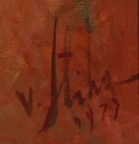 Vladan Stiha (1908-1992) signature