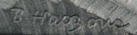 Bob Haozous (1943- ) signature