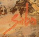 Betty Jean Sabo (1928 - 2016) signature