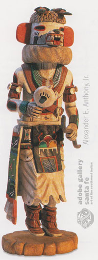 Example image from this book: A GUIDE TO HOPI KATSINA CARVINGS