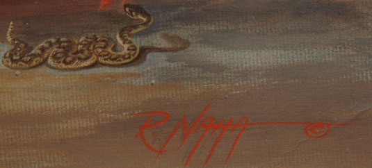 Raymond Naha (1933-1975) signature