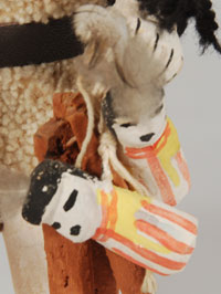 Kachina Doll bearing gifts.