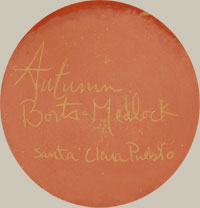 Autumn Borts Medlock (1967-) signature