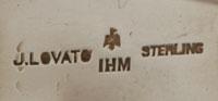 Julian Lovato (1922- ) signature hallmark