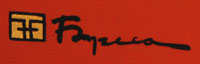 Harry Fonseca (1946-2006) signature