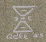 Adee Dodge (1911-1992) signature