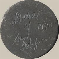 Dora Tse-Pé (1939- ) signature
