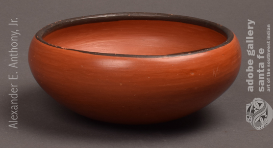 Alternate side view of this bowl.