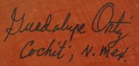 Guadalupe Ortiz (1929-2015) signature