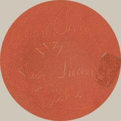 Alvin Curran (c.1953-1999) signature