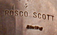 Roscoe Scott - artist signature