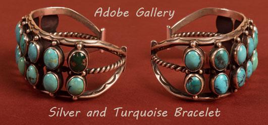 Alternate side views of the same bracelet.
