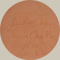 LuAnn Tafoya (1938- ) signature