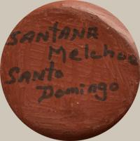 Santana Melchor (1889-1978) artist signature