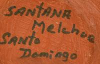 Santana Melchor (1889-1978) signature