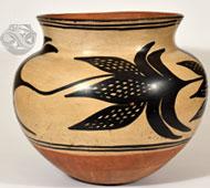 Santo Domingo Very Large Historic Storage Jar - Part of our Special Exhibit: Pueblo Dough Bowls and Storage Jars