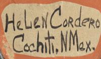Helen Cordero (1915–1994) signature