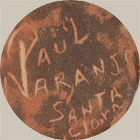 Paul Naranjo (1957-2002) signature