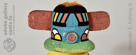 Close up view of this Kachina Doll.
