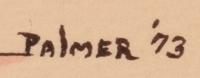 Ignatius Palmer (1922-1985) signature