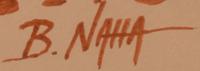 Artist Signature - B. Naha