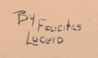 Artist Signature - Felicitas Lucero - Acoma Pueblo