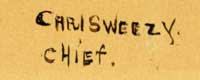 Artist Signature - Carl Sweezy (1879-1953) Wattan