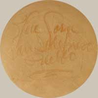 Artist Signature - Crucita Gonzales Calabaza (1921-1999) Blue Corn