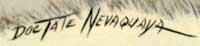 Doc Tate Nevaquaya (1932 - 1996) signature