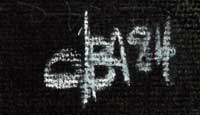 David Baca (1961-) signature