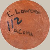 Elvira Lowden (ca. 1930s ) signature