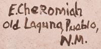 Evelyn Cheromiah (1928-2013) signature