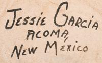 Jessie C. Garcia (1910-1999) signature