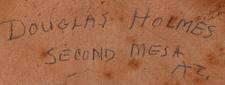 Douglas Holmes - artist signature