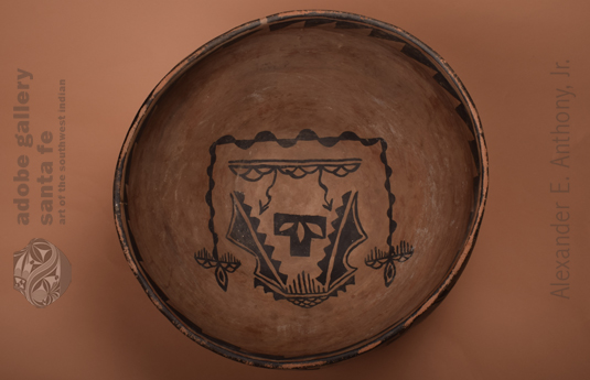 Alternate view of the inside designs of this bowl.