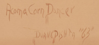 Duane Dishta (1946-2011) signature