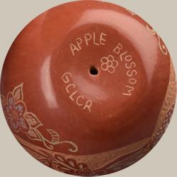 Artist Signature - Rosemary Lonewolf (1954 - ) Apple Blossom