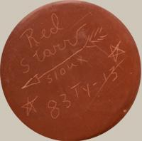 Red Starr (1937-2018) signature