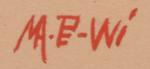 Artist Signature - Velino Shije Herrera (1902-1973) Ma Pe Wi - Oriole