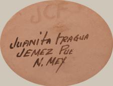 Juanita Fragua (1935-) signature