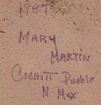 Artist Signature - Mary Martin (1927-2011) Tsiranitsia
