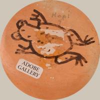 Artist Hallmark Frog Signature - Paqua Naha (1890-1955) Original Frog Woman