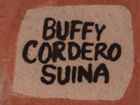 Buffy Cordero Suina (1969- ) signature